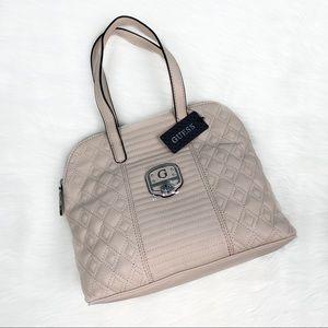 Guess Cream Leather Handbag